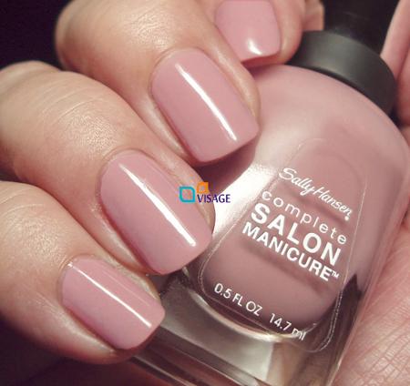 Sally Hansen Salon Complete Pink Pong Lakiery Do Paznokci Salon Complete Sally Hansen