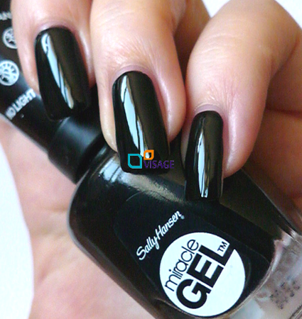 sally hansen miracle gel nr 460 blacky o lakiery do