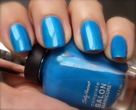 Sally Hansen Salon Complete Calypso Blue