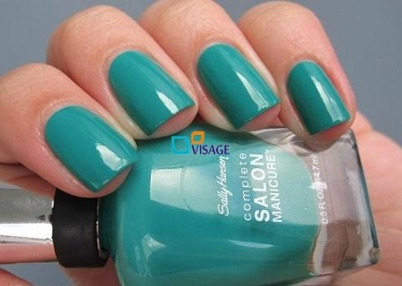 Sally Hansen Salon Complete New Wave Blue