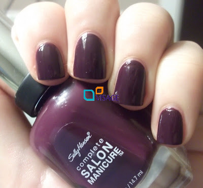 Sally Hansen Salon Complete Plum Luck