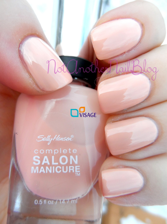 Sally Hansen Salon Complete Royal Blush 211