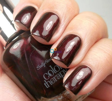 Sally Hansen Color Therapy lakier Wine Therapy nr 372