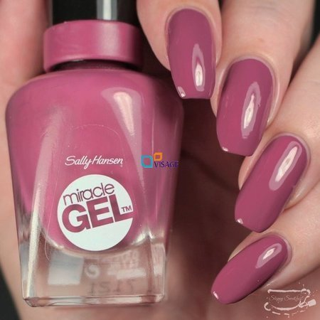 Sally Hansen Miracle Gel DUO Kolor Beet, Pray, Love nr 496 + Top 101