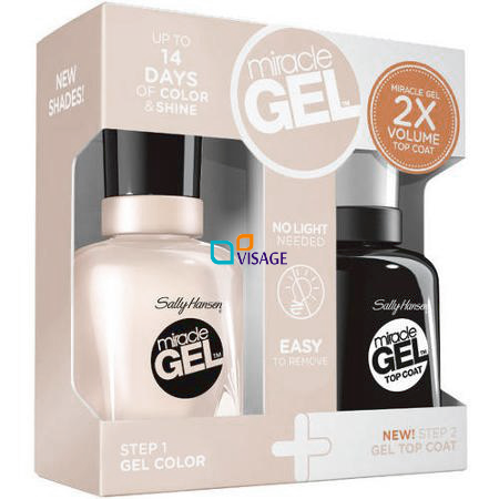 Sally Hansen Miracle Gel DUO Kolor Birthday Suit 110 + Top 101