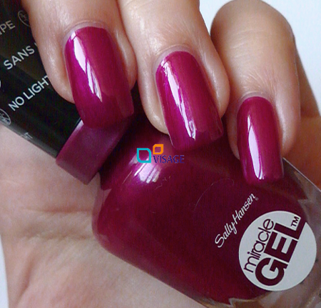Sally Hansen Miracle Gel DUO Kolor Mad Women nr 500 + Top 101