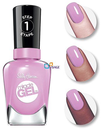 Sally Hansen Miracle Gel DUO Kolor Orchid-ing Aside nr 534 + Top 101