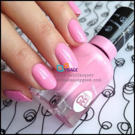 Sally Hansen Miracle Gel DUO Kolor Pink Cadillaquer nr 170 + Top 101