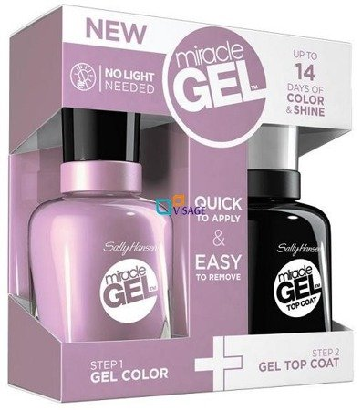 Sally Hansen Miracle Gel DUO Kolor Street Fair nr 270 + Top 101