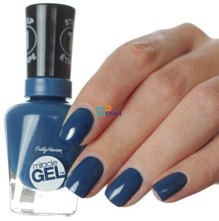 Sally Hansen Miracle Gel DUO Kolor Swim Upstream nr 656 + Top 101