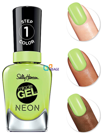 Sally Hansen Miracle Gel Lakier Electric lime 052