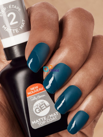 Sally Hansen Miracle Gel Top Coat Matte nr 102