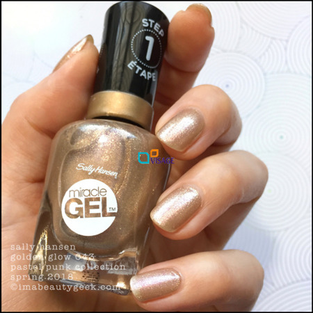 Sally Hansen Miracle Gel nr 043 Golden Glow