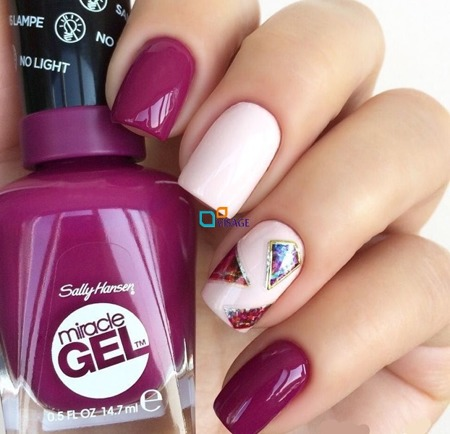 Sally Hansen Miracle Gel nr 153 Sorbet Array