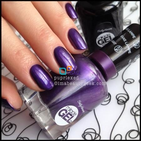 Sally Hansen Miracle Gel nr 570 Purplexed