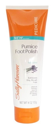 Sally Hansen Pumice Foot Polish krem z ziarenkami pumeksu do stóp