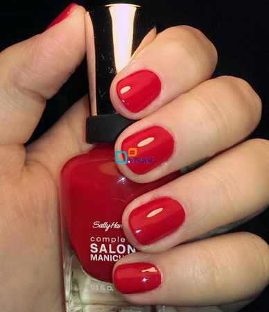 Sally Hansen Salon Complete Red Handed